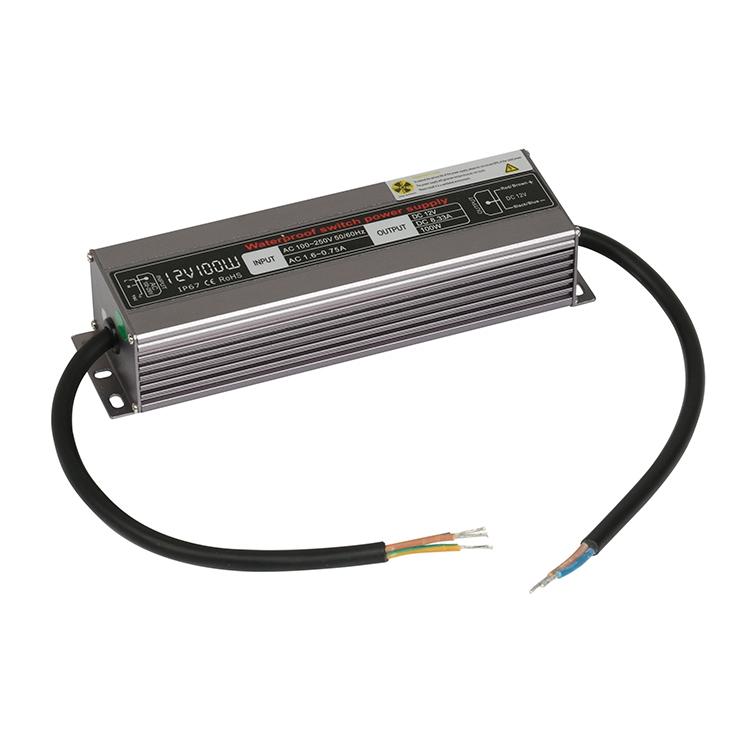 12v100w防水电源