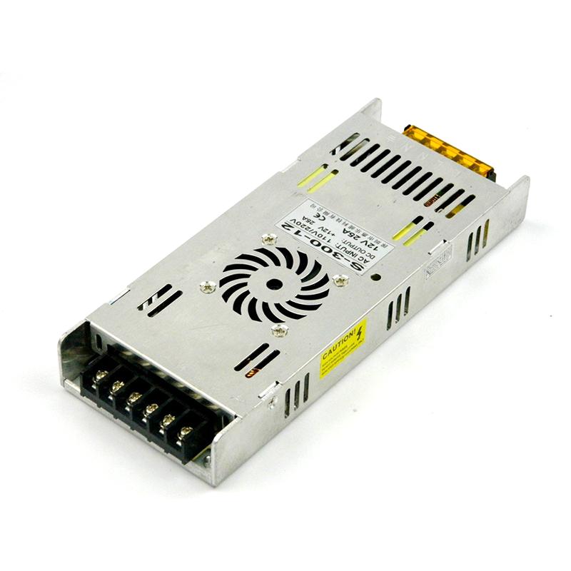 12V25A300W超薄型电源